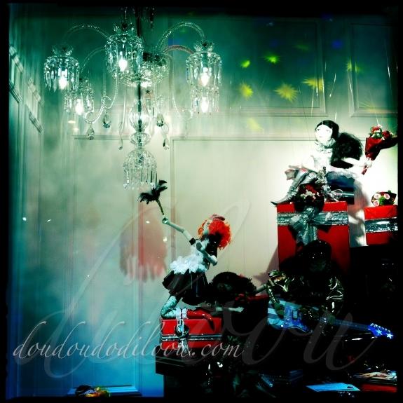 Vitrines de Noël 2011- Galeries Lafayettes Haussmann