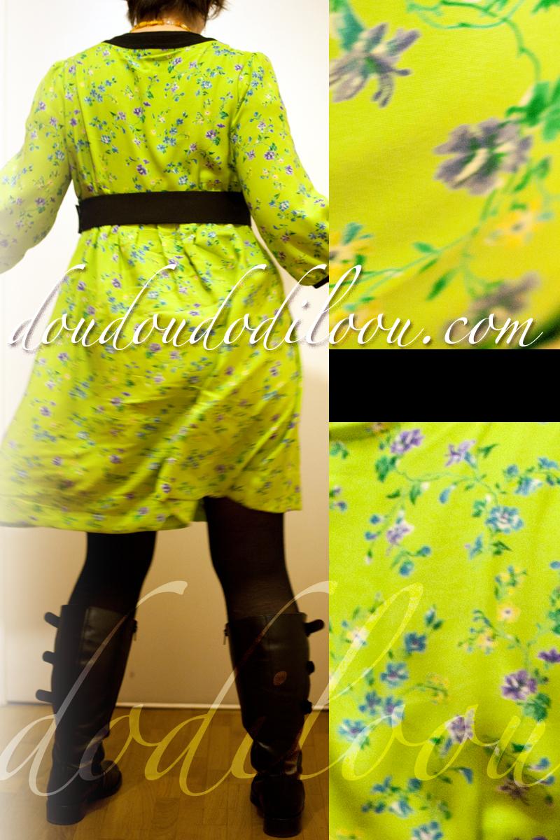 robe japancouture tuniques robes etc modèle M - de dos et détails